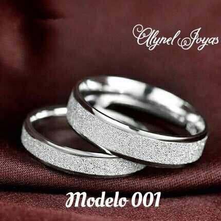 Anillos de matrimonio y de grado plata 925