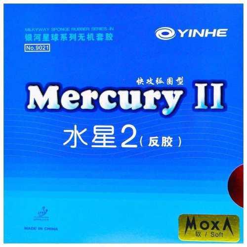 Goma tenis de mesa milkyway mercury ii max roja o negra