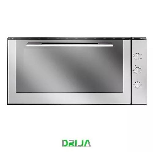 Horno cocina empotrar gas drija 90 cm acero inoxidable