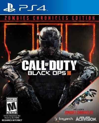Juegos ps4 cod black ops 3 zombis edition somos tienda