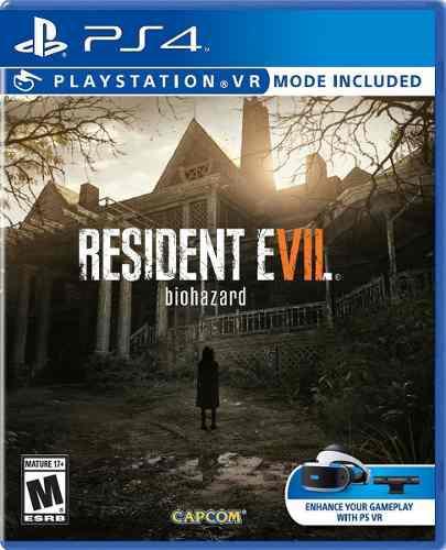 Juegos ps4 resident evil 7 original somos tienda (nuevo) 40