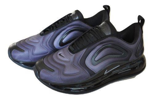 Kp3 zapatos caballeros nike air max 720 gris negro