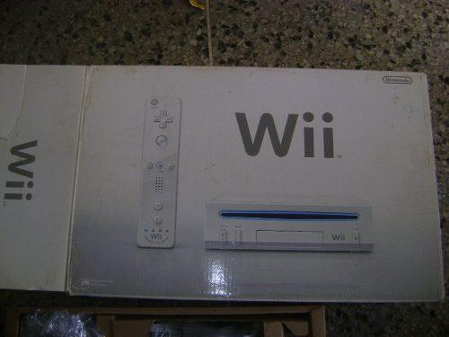 Nintendo wii consola nueva lea las especificaciones de venta