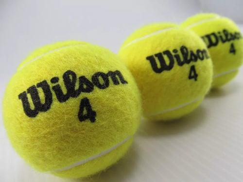 Pelotas de tenis wilson 4 originales extra duty championship