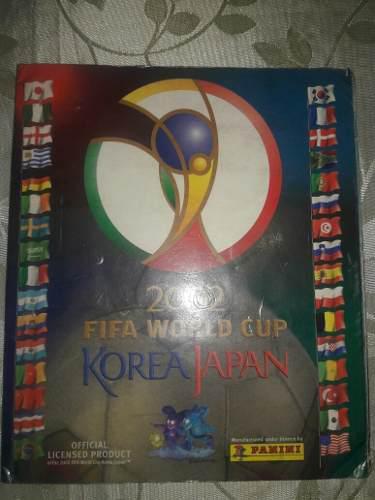 Albúm panini mundial korea 2002