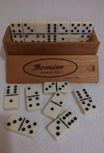 Juego domino piezas grandes hecho en japon nuevo