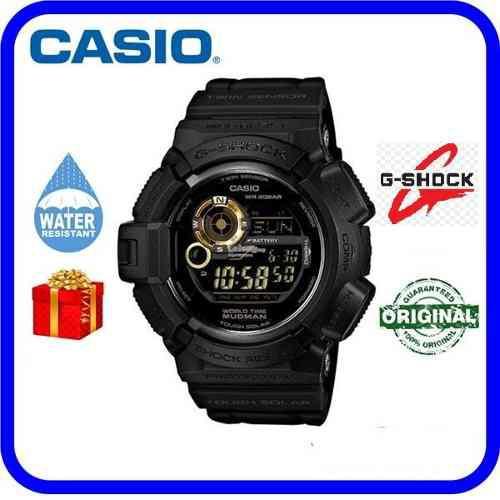 Reloj casio original g-shock black gold series g-9300gb-1dr