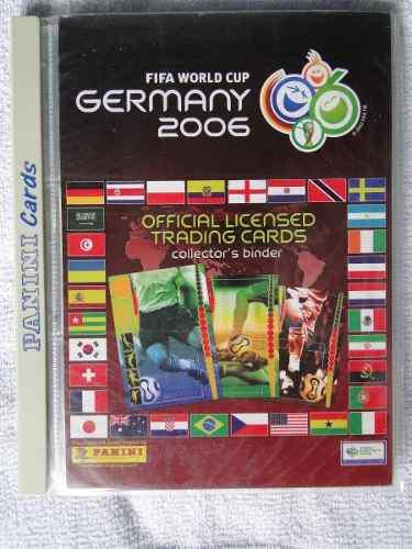 Lbum trading cards fifa world cup germany 2006 panini