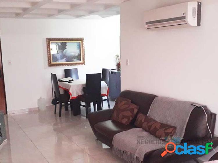 Apartamento remodelado en el conjunto residencial los raudales iii, piso 4.