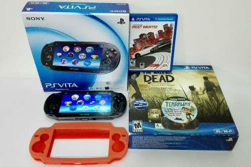 Consola play station vita sony 4 gb