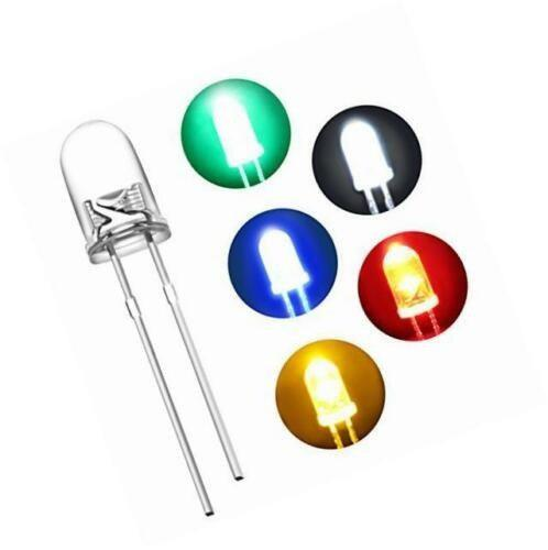 Diodo led 3mm packs 20 unidades varios colores