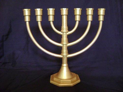 Lampara/candelabro judio hebreo menorah