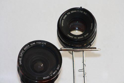 Lente canon fd 50mm 1:1.8