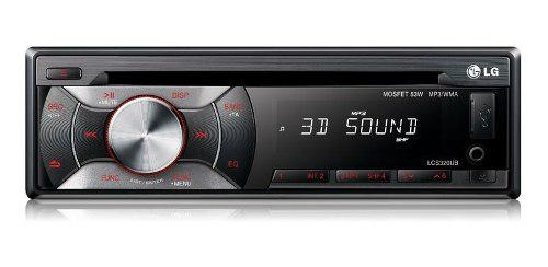 Radio reproductor lg cd mp3 usb aux subwoofer tienda 70 vdrs