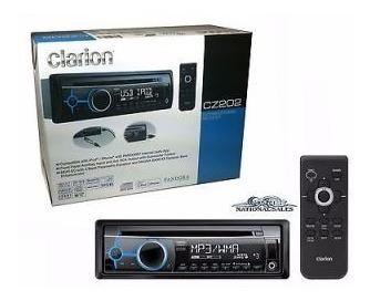 Reproductor de carro mp3 clarion cd usb aux ipod iphone wma