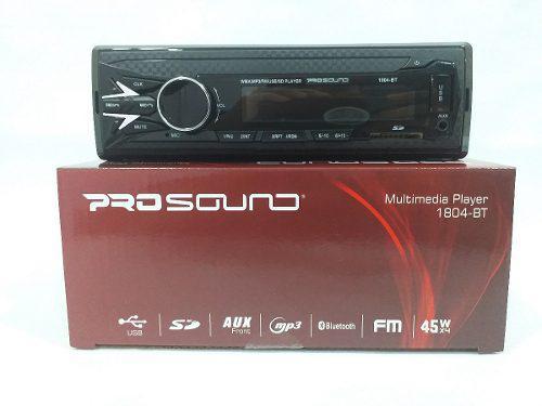 Reproductor prosound de carro mp3 usb bluetooth con control