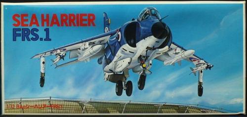Sea harrier frs.1 (kit avion plástico), 1/72. fujimi. 30
