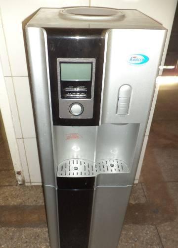 Filtro de agua khaled con nevera y mini congelador