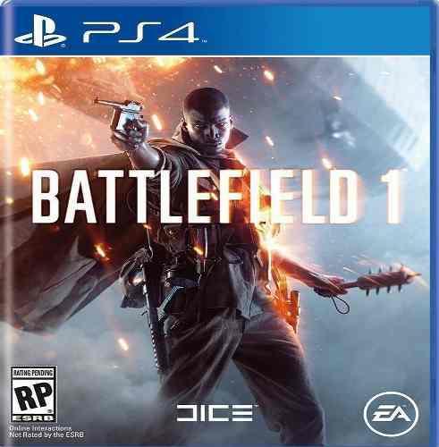 Juegos ps4 battlefield 1 sellado 30tr somos tienda