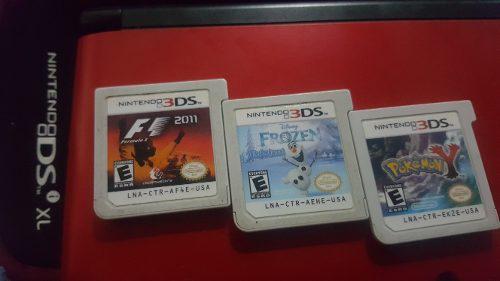 Nintendo 3ds xl con 3 juegos. niños