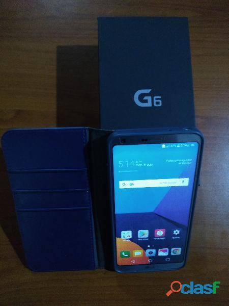 Celular Lg G6 Play 4gb Ram. con lector de huella y reconocimiento facial.