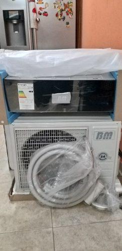 Aire acondicionado split 12 mil btu bm consola de lujo nuevo