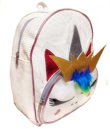 Bolso de unicornio morral escolar lol