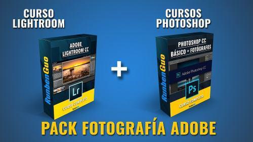 Curso pack fotografía lightroom + photoshop con runbenguo