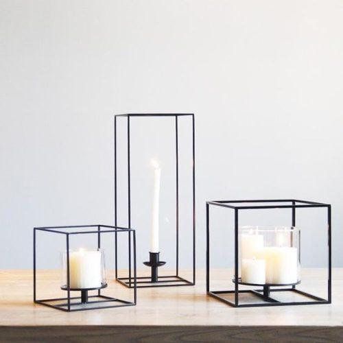 Decoración detalles adornos minimalista modernos de hierro