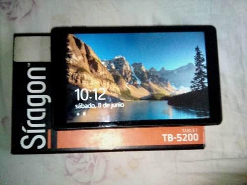 Tablet siragon tb-5200 windows 75 verdes