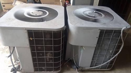 Unidad (2) condensadora de aire acondicionado 5 toneladas.