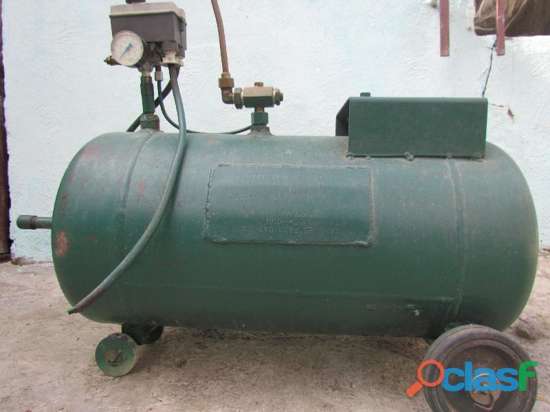 Tanque cilindro para compresor