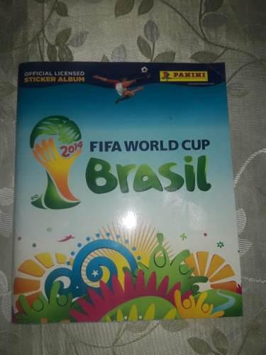 Album panini mundial brasil 2014