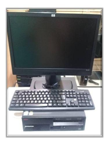 Computadora pc escritorio dual core 2gb ram dd 160 gb (**)