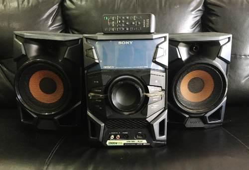 Equipo de sonido sony genezi mini hifi mhc-ex66