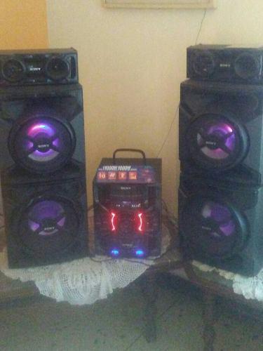 Equipo de sonido sony genezis mhc gtr 777