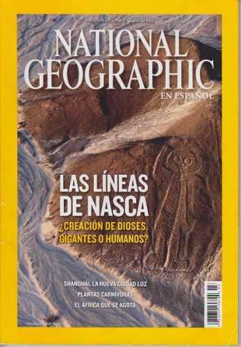 Revistas national geographic (2 revistas)