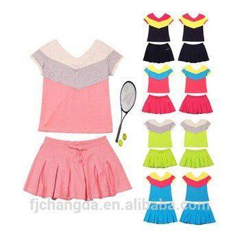 Uniforme de tenis femenino