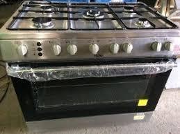 Cocina 5 hornillas acero inoxidable nueva mas horno rostizad