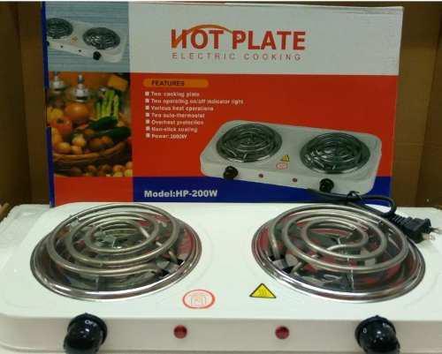 Cocina electrica 2 hornillas 110 v con garantia