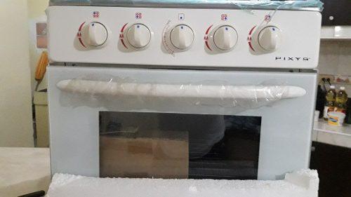 Cocina pixys con horno y gratinador, nueva en su caja.