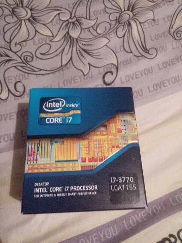 Procesador core i7 3770 socket 1155 de 3ra generación