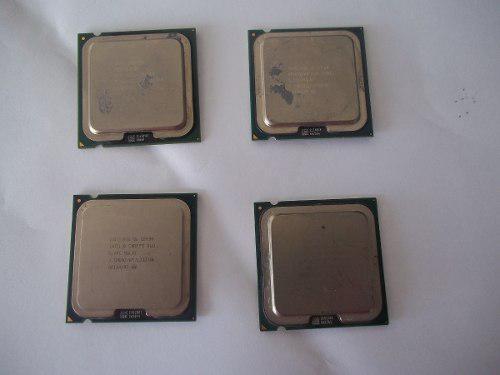 Procesador pentium 4 dual core y core 2 duo