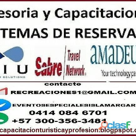 Curso basico reservas.agente free lance turismo