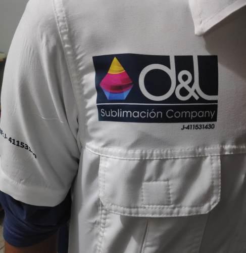 Camisas tipo columbia personalizados (bordados y sublimados)