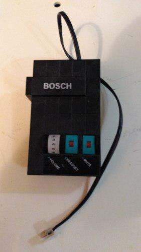 Central telefonica amplificador manos libres bosch