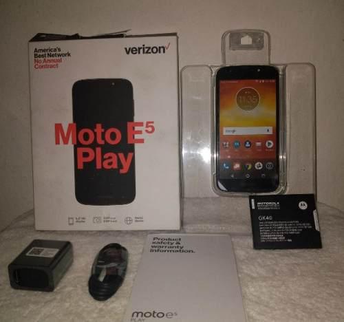 Motorola e5 play, lector huellas, somos tienda (130)+ regalo