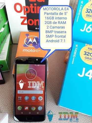 Motorola moto e4 _90 us_ telefono celular dual sim liberado