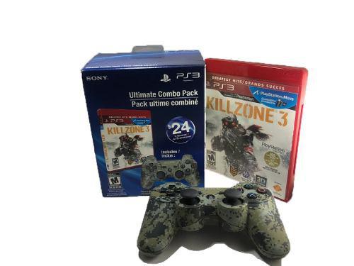 Control ps3 sixaxis dualshock 3 original combo pack