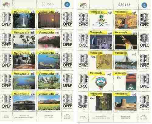 Emisión ii cumbre opep año 2000 nuevas con goma